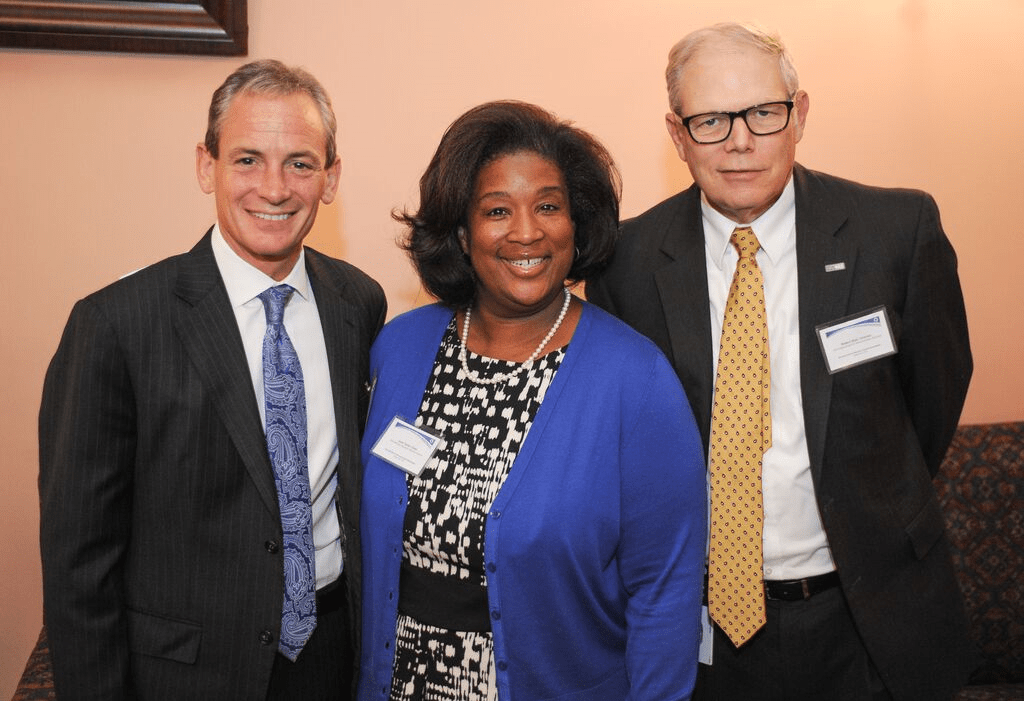 Development Services Agency Director David Goodman, Ohio Minority Business Advisory Council Chair June Taylor, and Department of Administrative Services Director Bob Blair