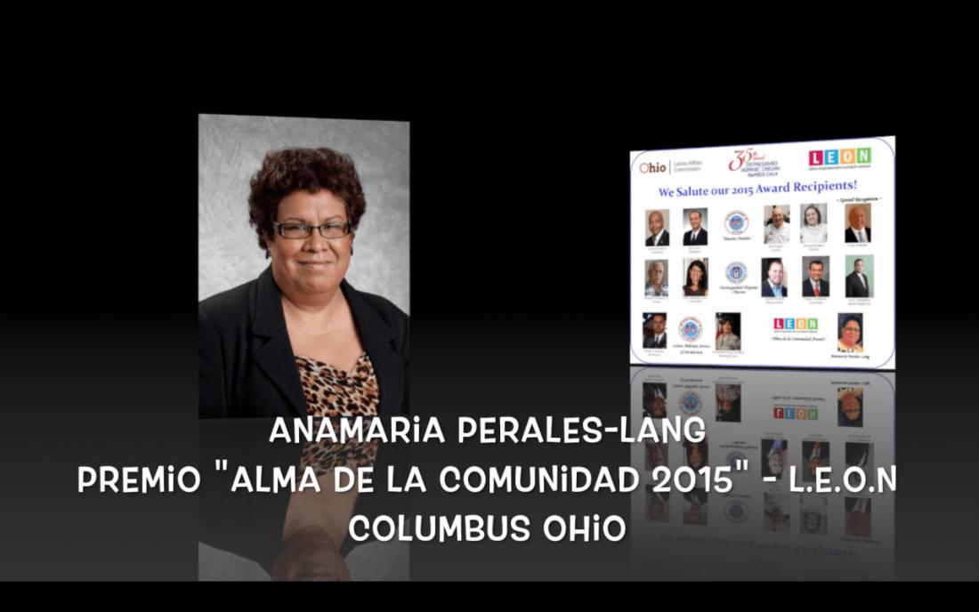 Premio Alma de la Comunidad 2015 L.E.O.N