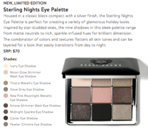 Setting Nights Eye Palette