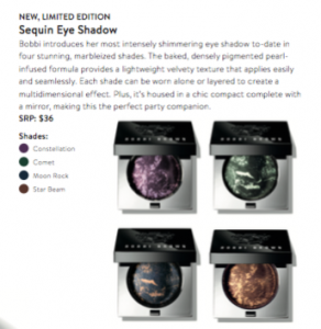 Sterling Nights Eye Shadows