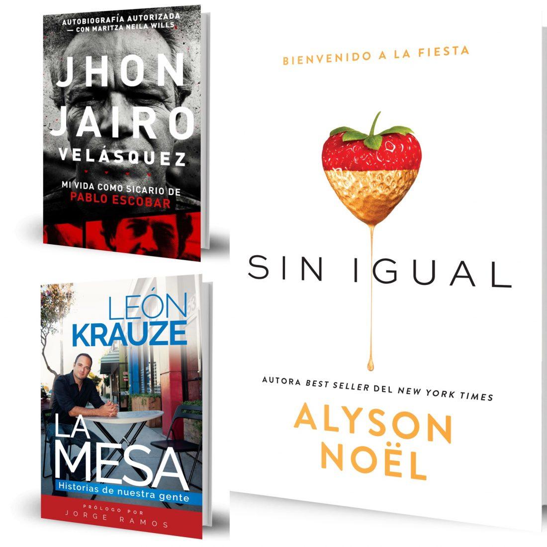 Los Libros del mes - Junio 2016